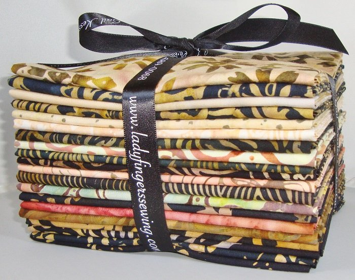 Tonga Madrid Batiks Fat Quarter Bundle
