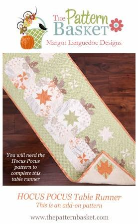 Hocus Pocus Table Runner Add On