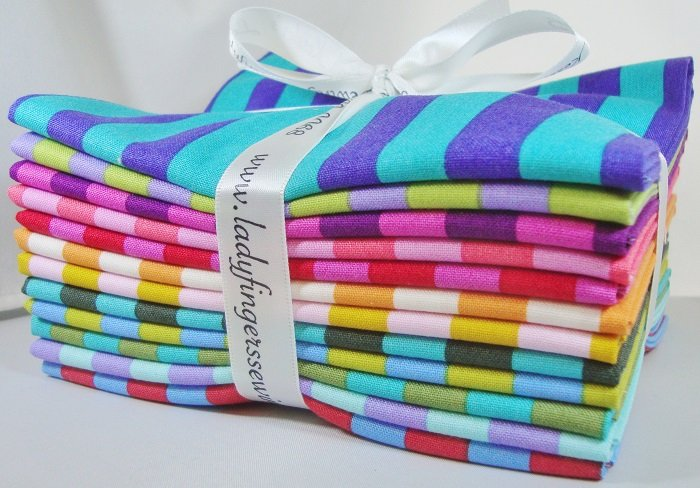 Tula Pink Tent Stripes Fat Quarter Bundle