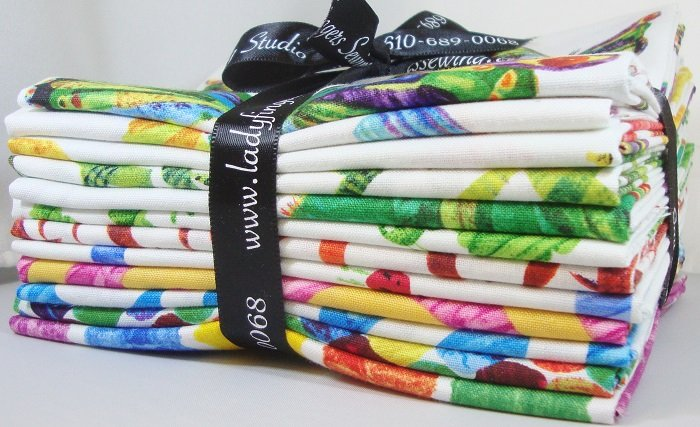 Very Hungry Caterpillar Fat Quarter Bundle
