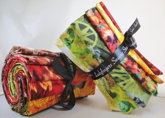 The Wildflower Collection Warm Fat Quarter Bundle