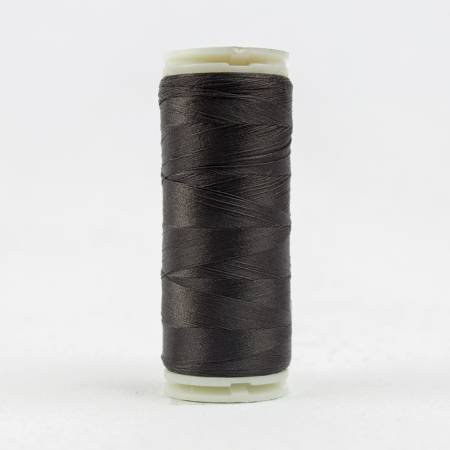 Invisafil Solid 100wt Polyester Thread 400m Charcoal