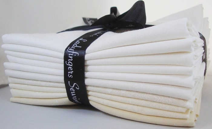 Whites & Creams Fat Quarter Bundle