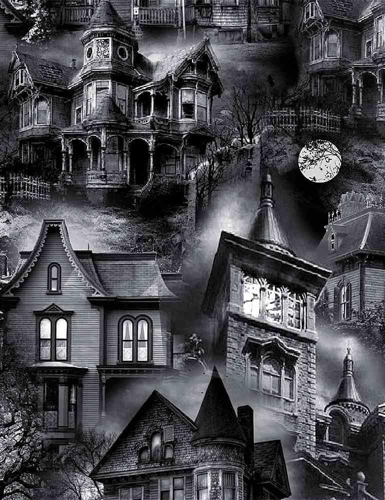 Wicked Eve Haunted Houses C8640-BLACK