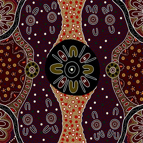 Aboriginal Women's Business Charcoal
