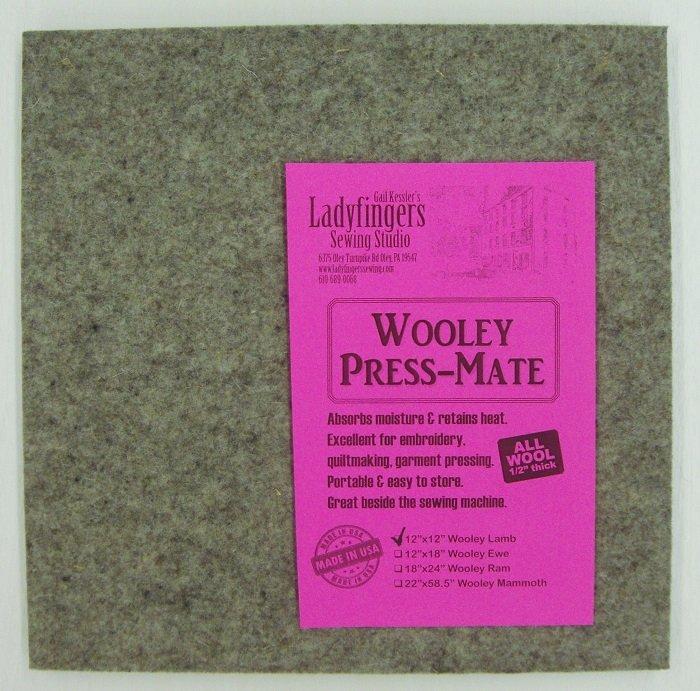 Wooley Press-Mate 12 x 12 Wooley Lamb