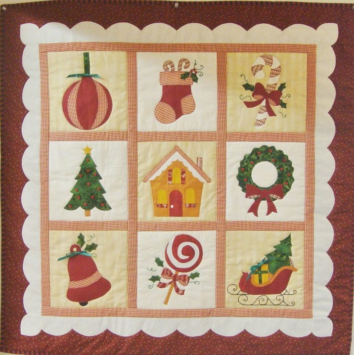 Quilt Backing -  Christmas Keepsakes