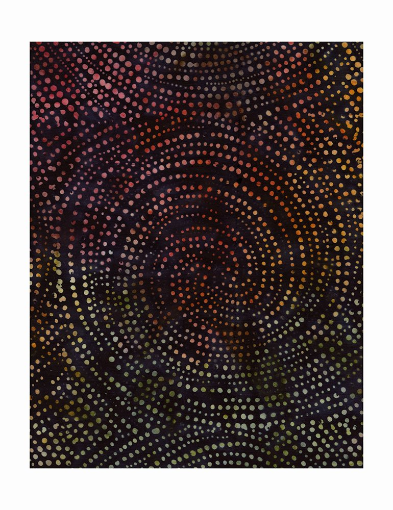 Tonga Batik Dotty Spiral - 106 Wide B2336-FOREST