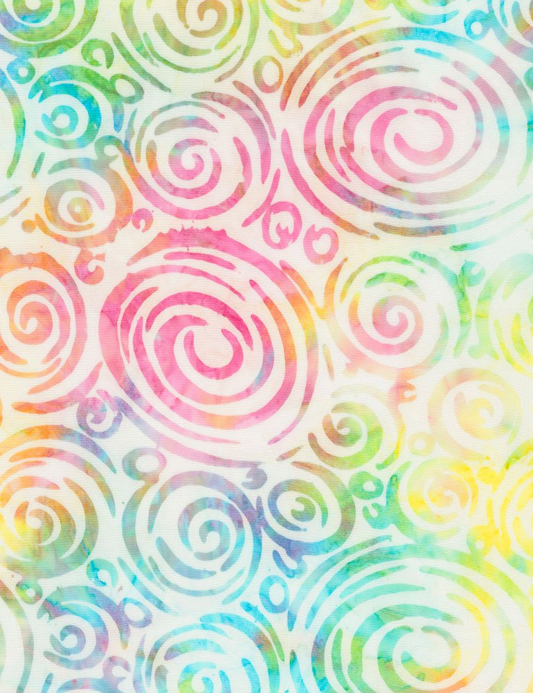 Tonga Batik Tangy Swirls - 106 Wide B7513-SMILE