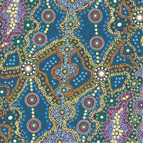 Aboriginal Yalke Blue
