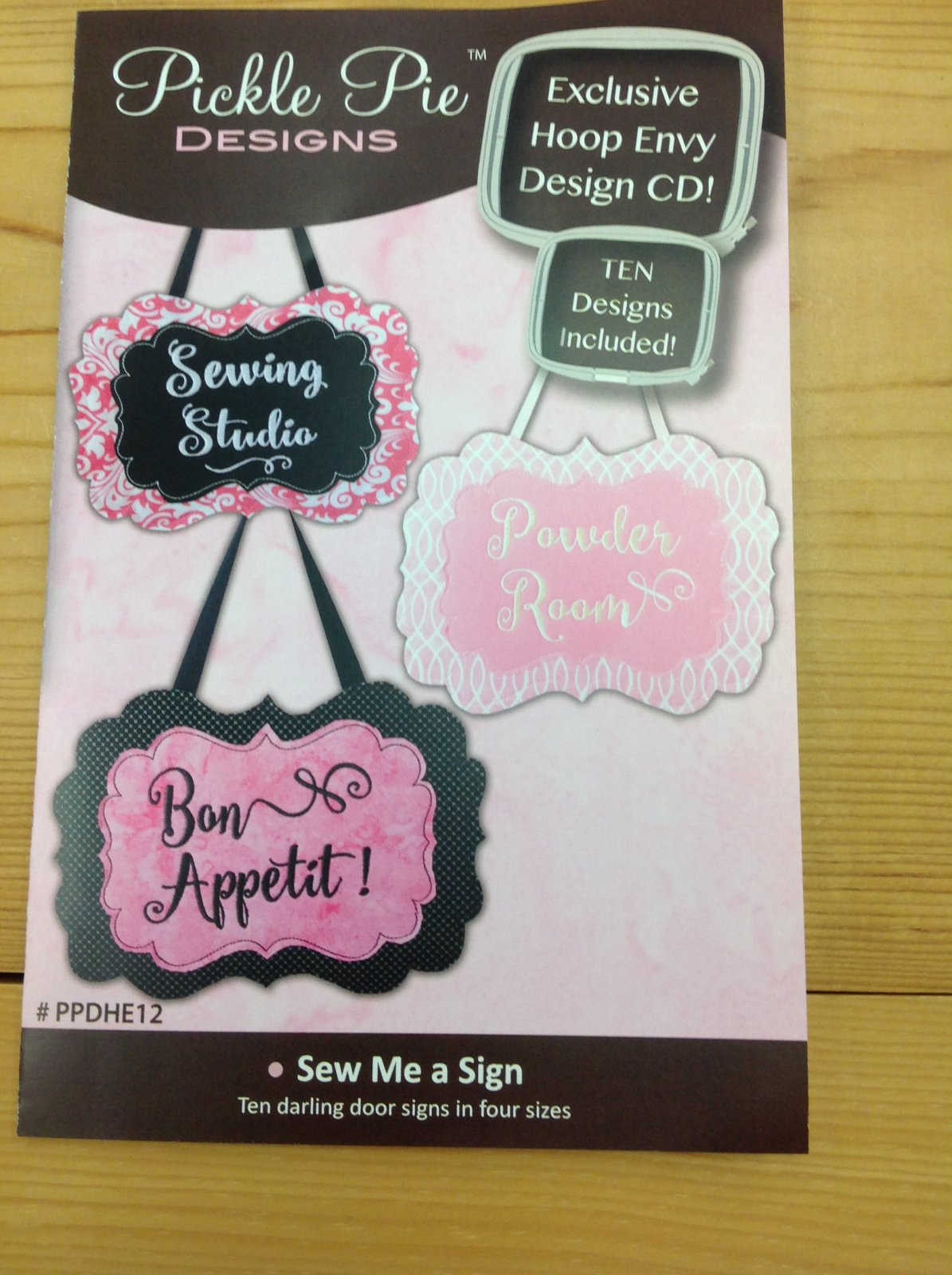 Pickle Pie Designs Sew me a Sign