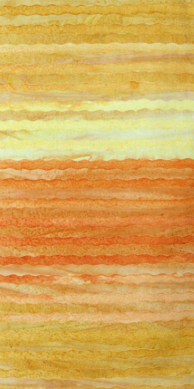 ANTHOLOGY BATIK  Stripe CollectionYellow Orange