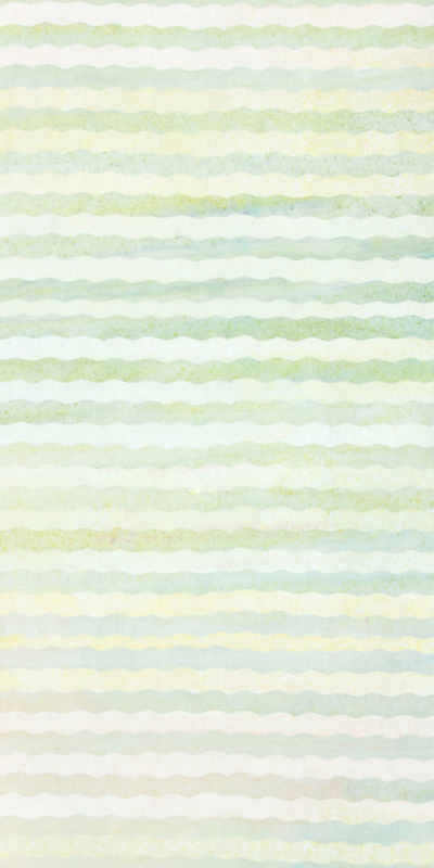 ANTHOLOGY BATIK  Stripe CollectionGreensYellow