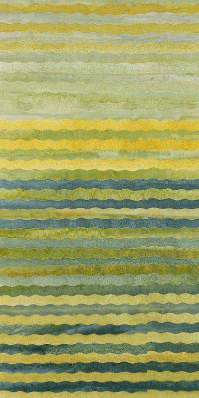 ANTHOLOGY BATIK  Stripe CollectionBlue Yellow