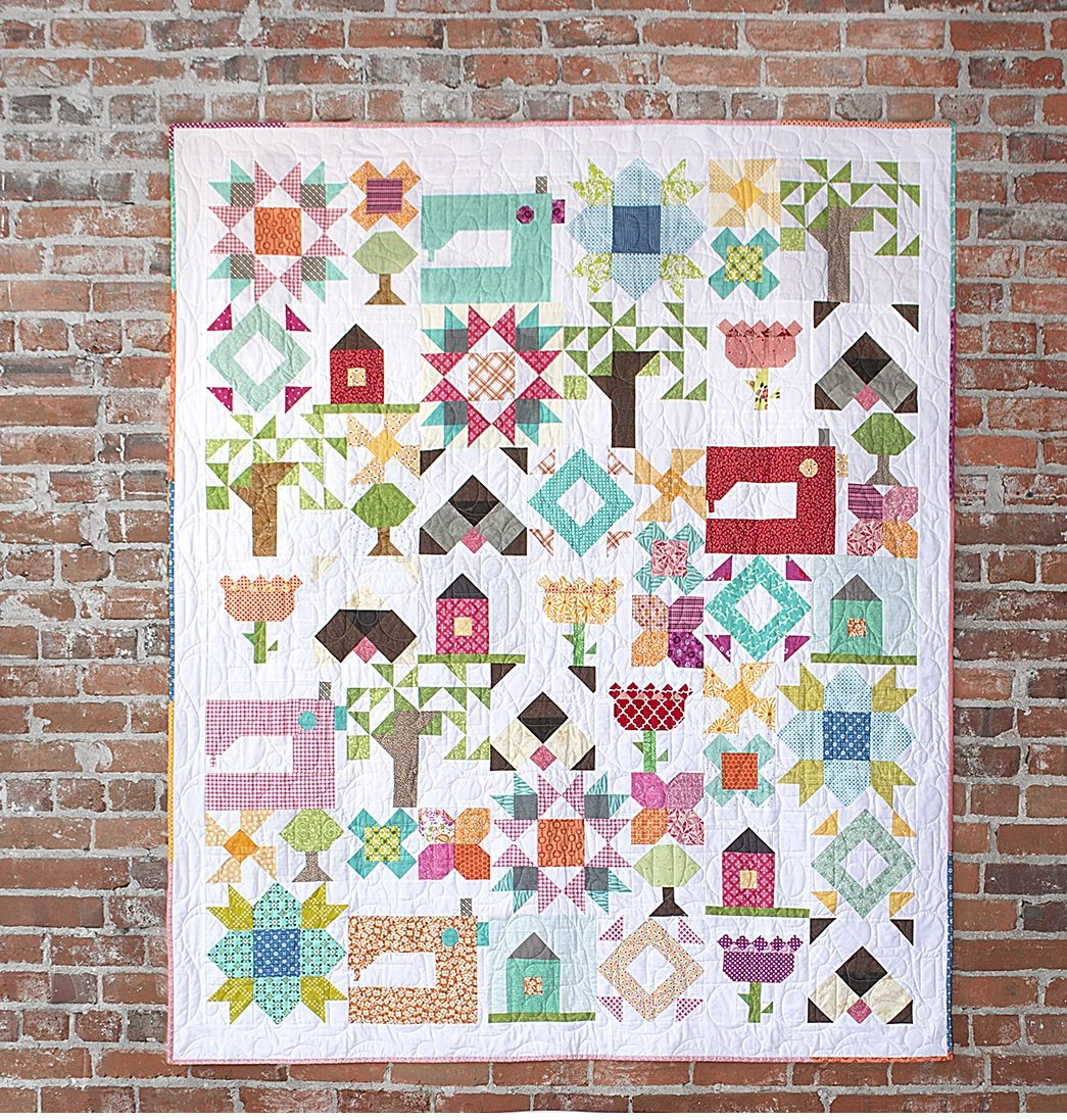 Monthly Calendar Quilt Patterns : Block of the month