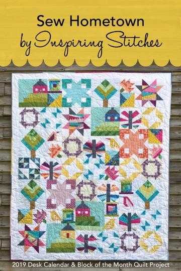 Sew Hometown Calendar Block of the month Membership