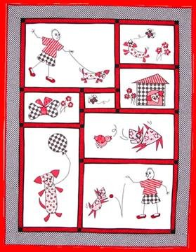 1008_Sparky and Friends Quilt Pattern