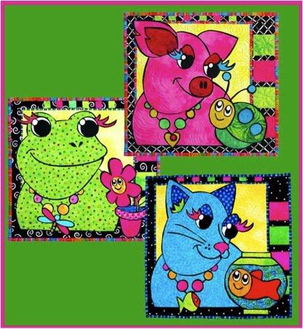 1035 Paper Doll Animal Fun Kit (Frog)