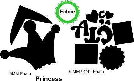 1065-Princess Embellishment Kit