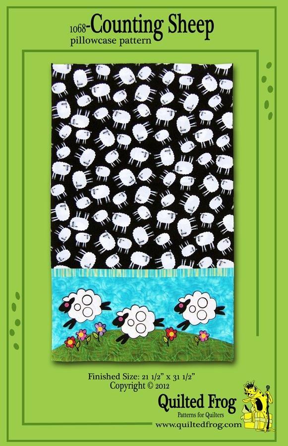 1068-Counting Sheep Pillowcase Pattern