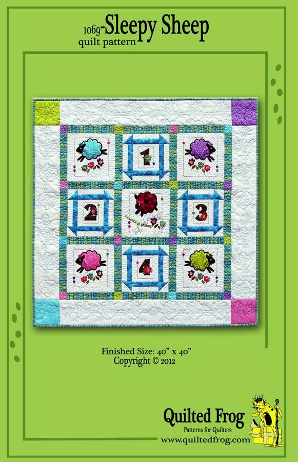 1069-Sleepy Sheep Quilt