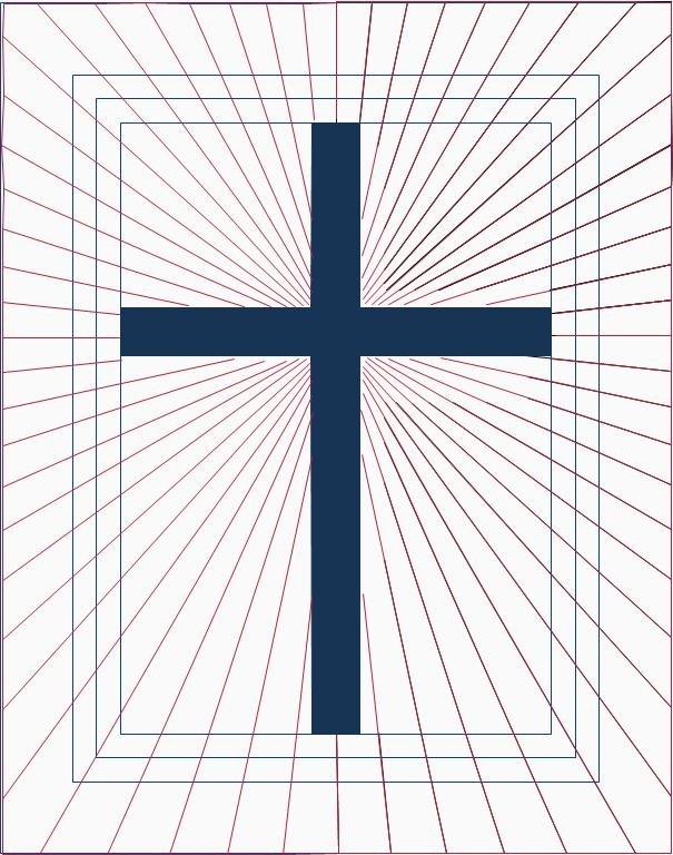 Radiant Cross Longarm Pattern