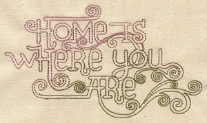 UT2796 Home is where you are Logo