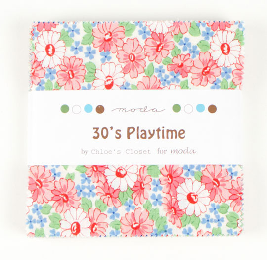 30's Playtime Charm Pack
