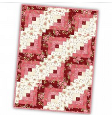 Log Cabin Quilt Maywood