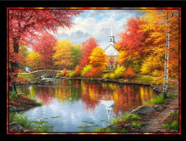 PANEL #843 PB AUTUMN TRANQUILITY