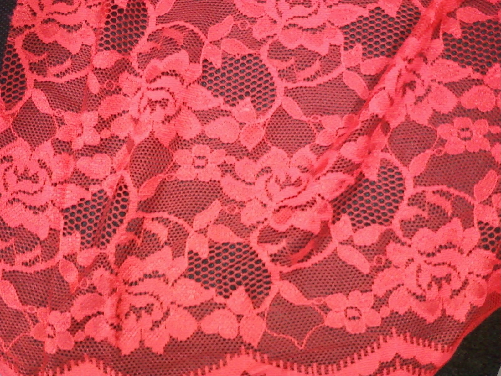 LOG ENCHANTING LACE RED