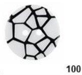 DB100 28mm Fashion Buttons 1-1/8