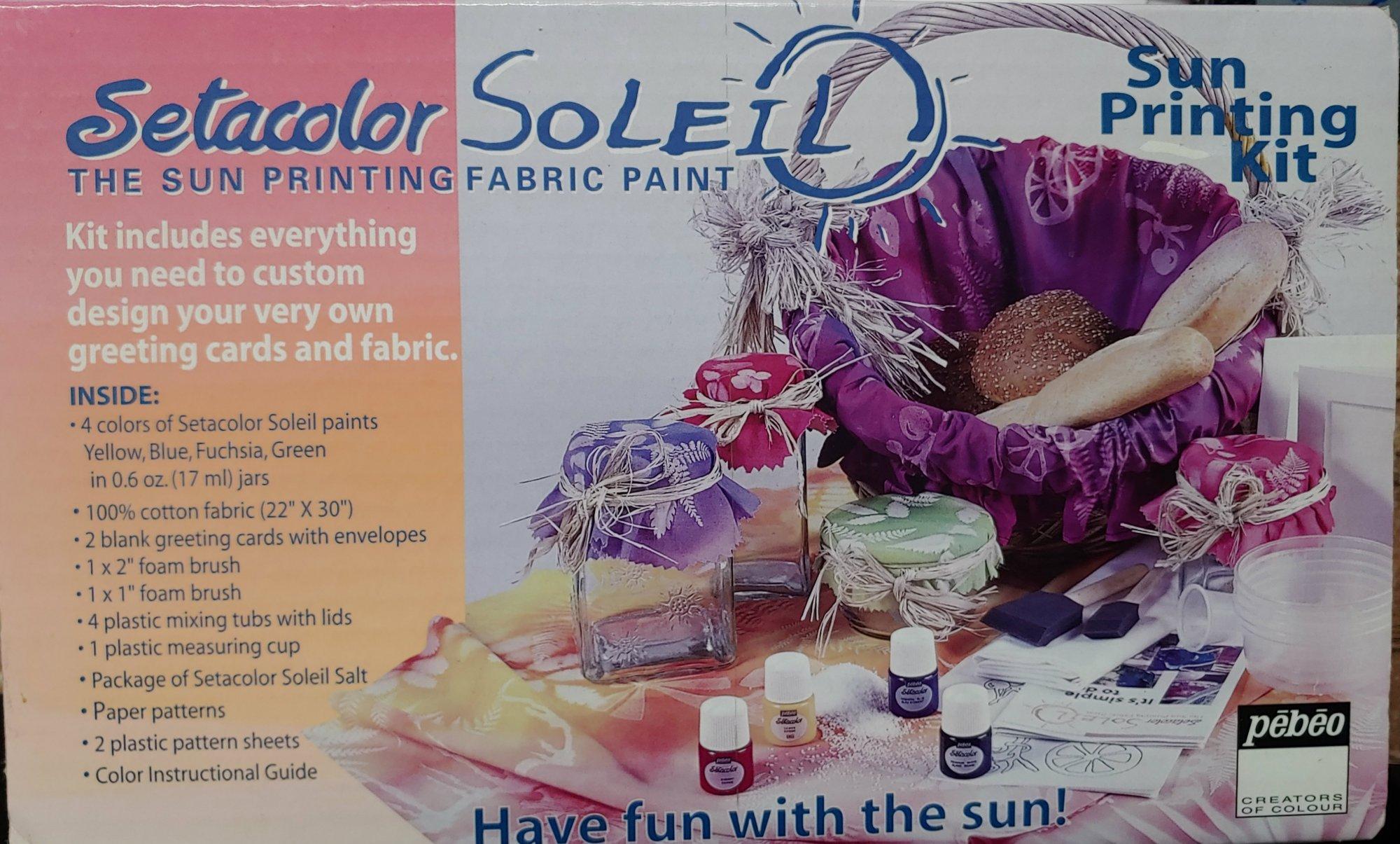 Setacolor Soleil Sun Printing