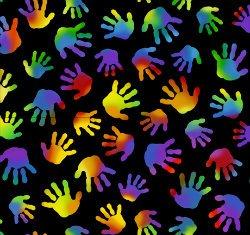 QT 1649 27070 J Jesus Loves the Little Children Black
