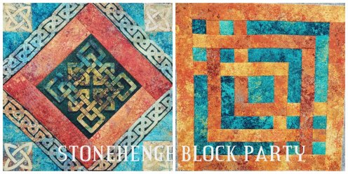 Block Party Blocks E-Z Knit Fabrics and Sew E-Z Too