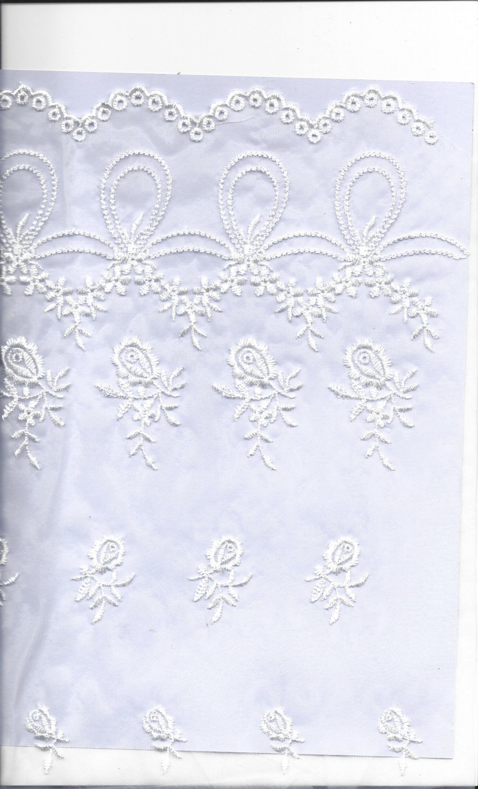 ACC 51030/3 EMBROIDERED ORGANZA