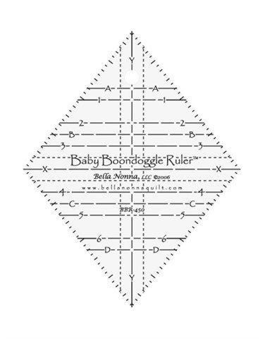 Baby Boondoggle Ruler BR450