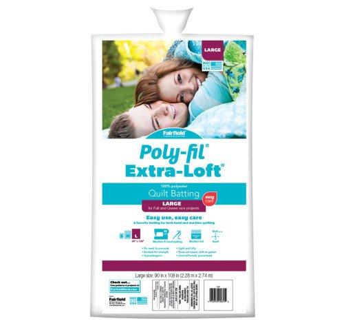 Poly-Fill Extra Loft  Quilt Batting 81x96