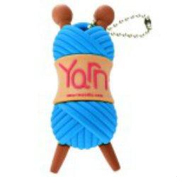 USB Drive 2 GB Blue Yarn