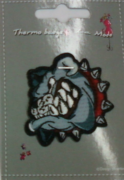 PFA BULLDOG THERMO BADGE