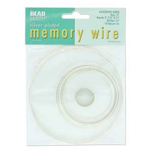 BeadSmith MEMORY WIRE ASST 5 SIZES