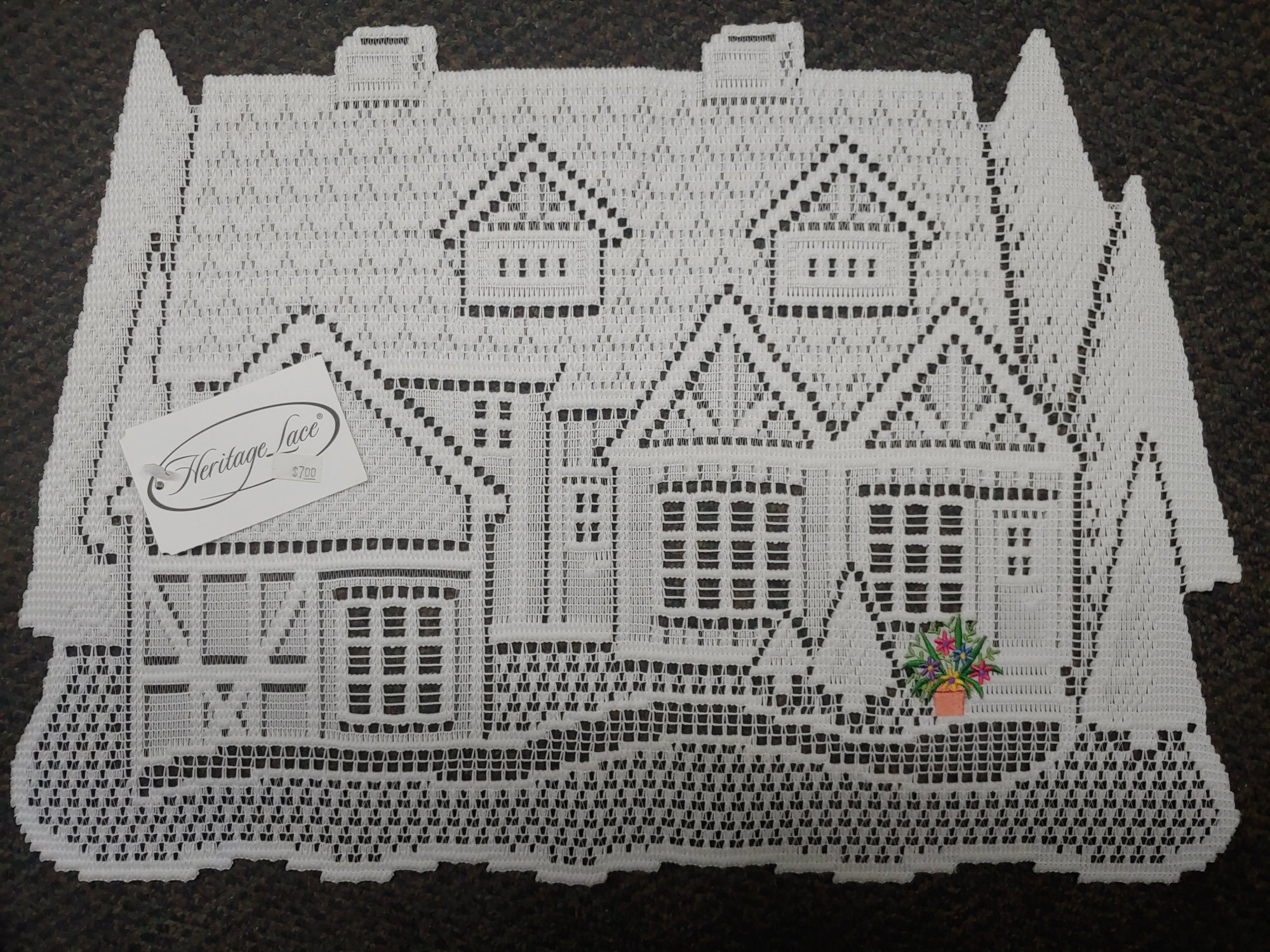 HERITAGE LACE COTTAGE PLACEMAT