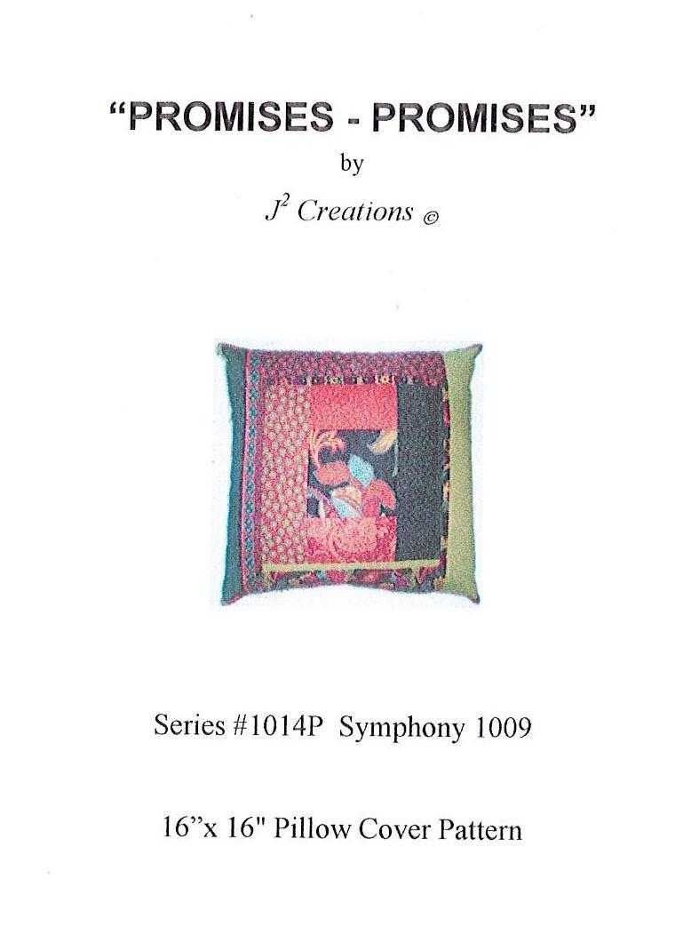 J2 CREATIONS - Promises - Promises 16x16 Pillow Cover