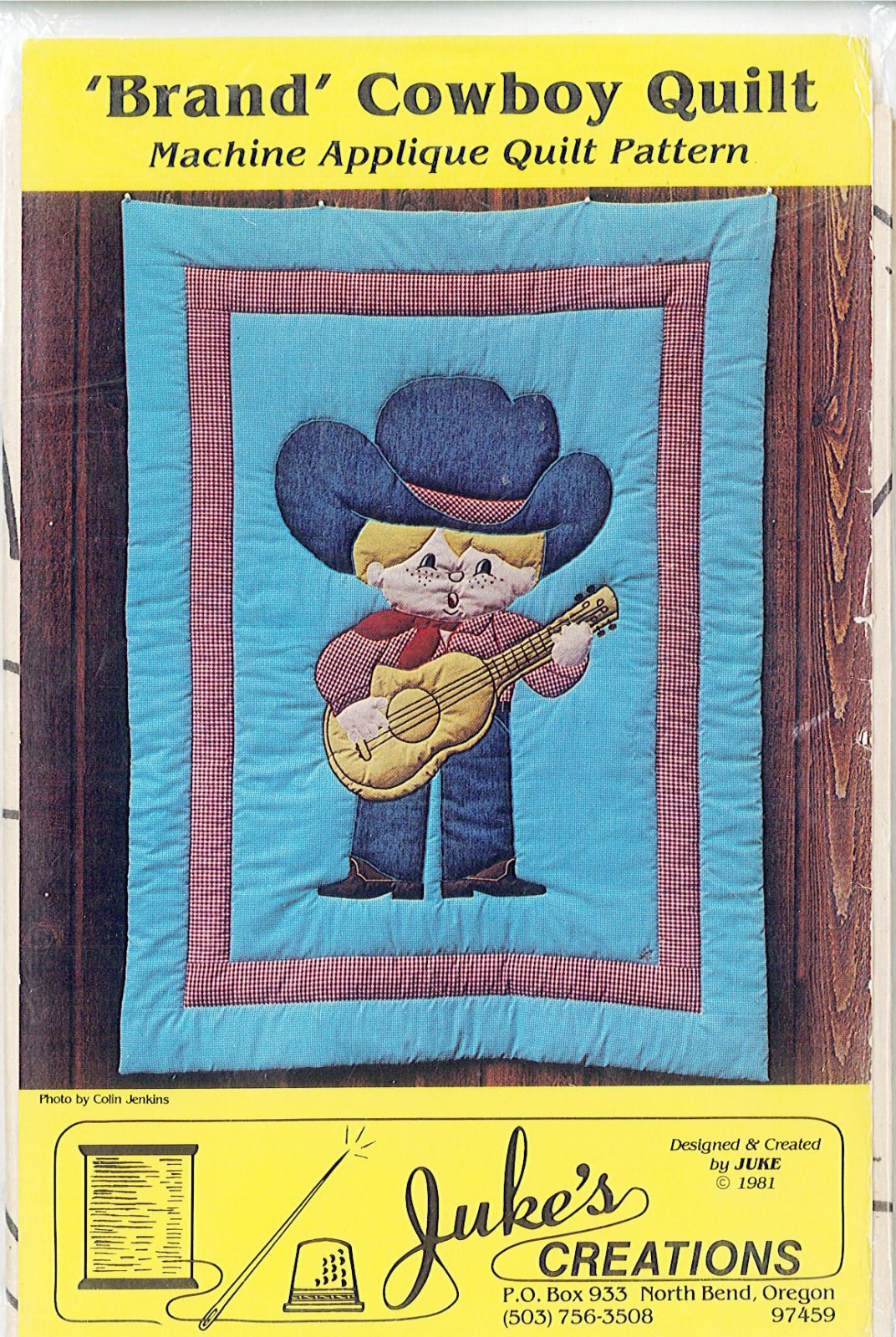 JUKE'S CREATIONS - 'Brand' Cowboy Quilt