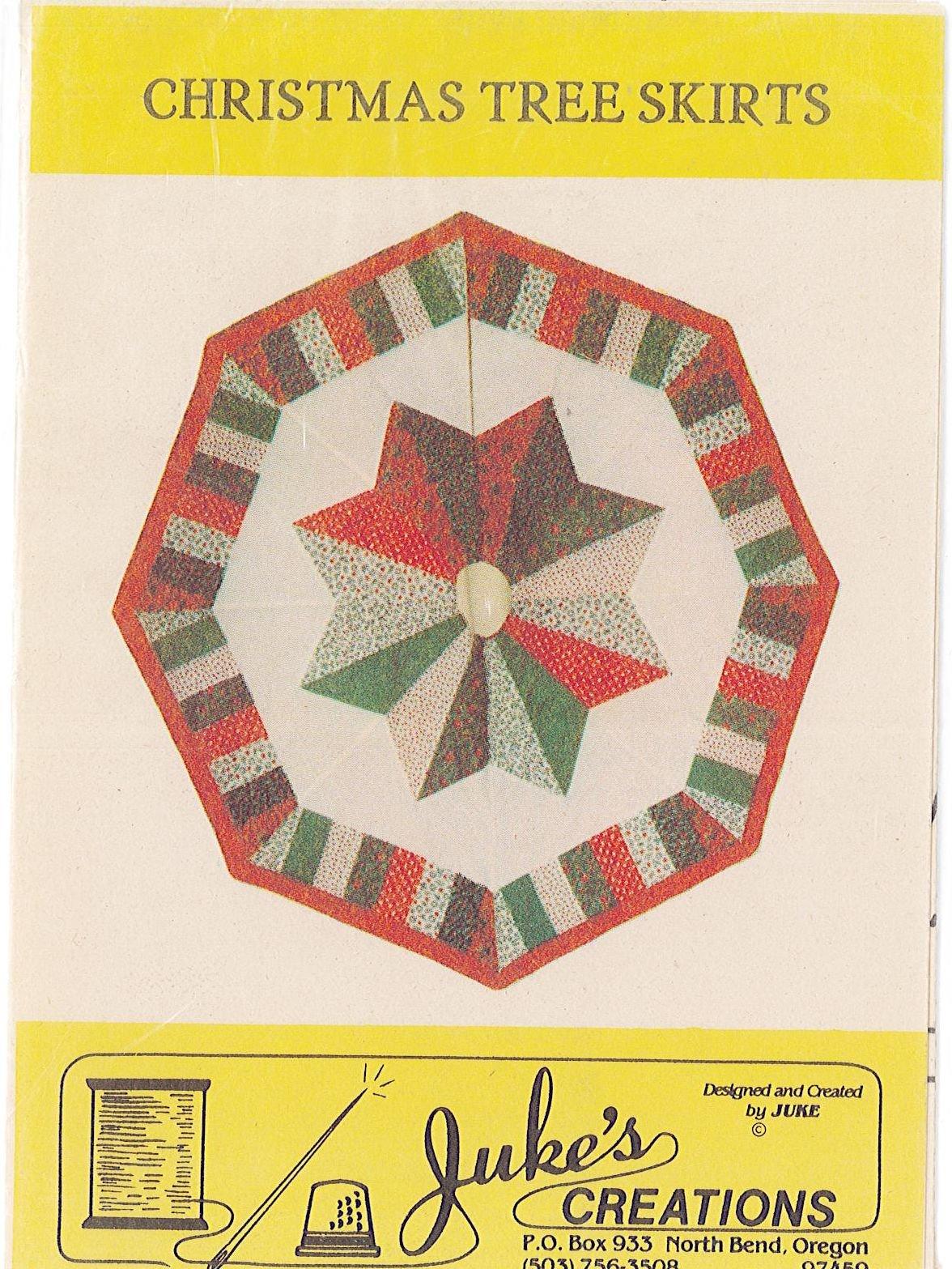 JUKE'S CREATIONS - Christmas Tree Skirts
