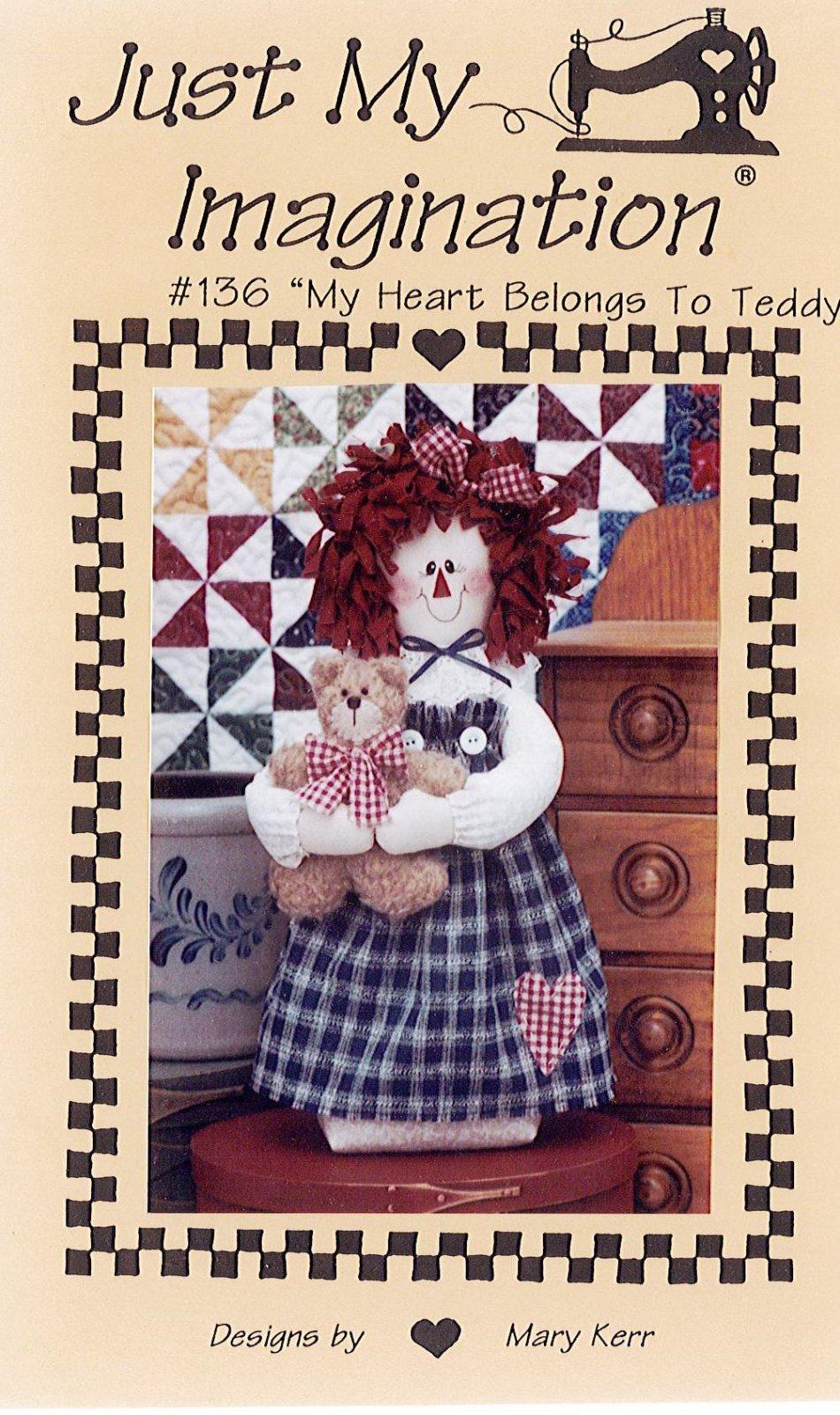 JUST MY IMAGINATION - My Heart Belongs to Teddy