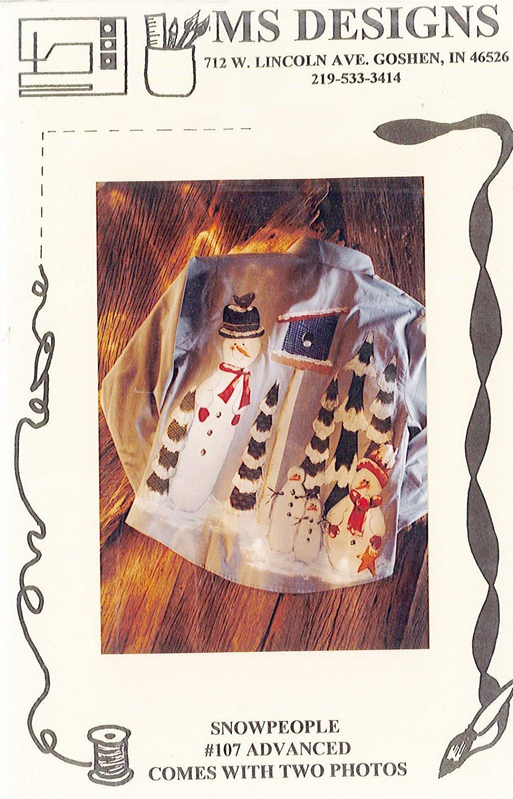 MS DESIGNS - Snowpeople #107
