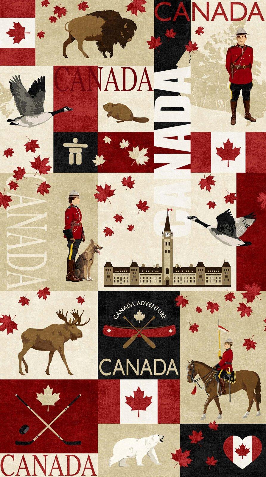 PANEL #749 NC DP22527-24 CANADIAN CLASSICS