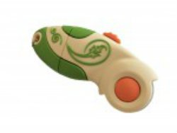 USB Drive 2GB Rotary Cutter, green