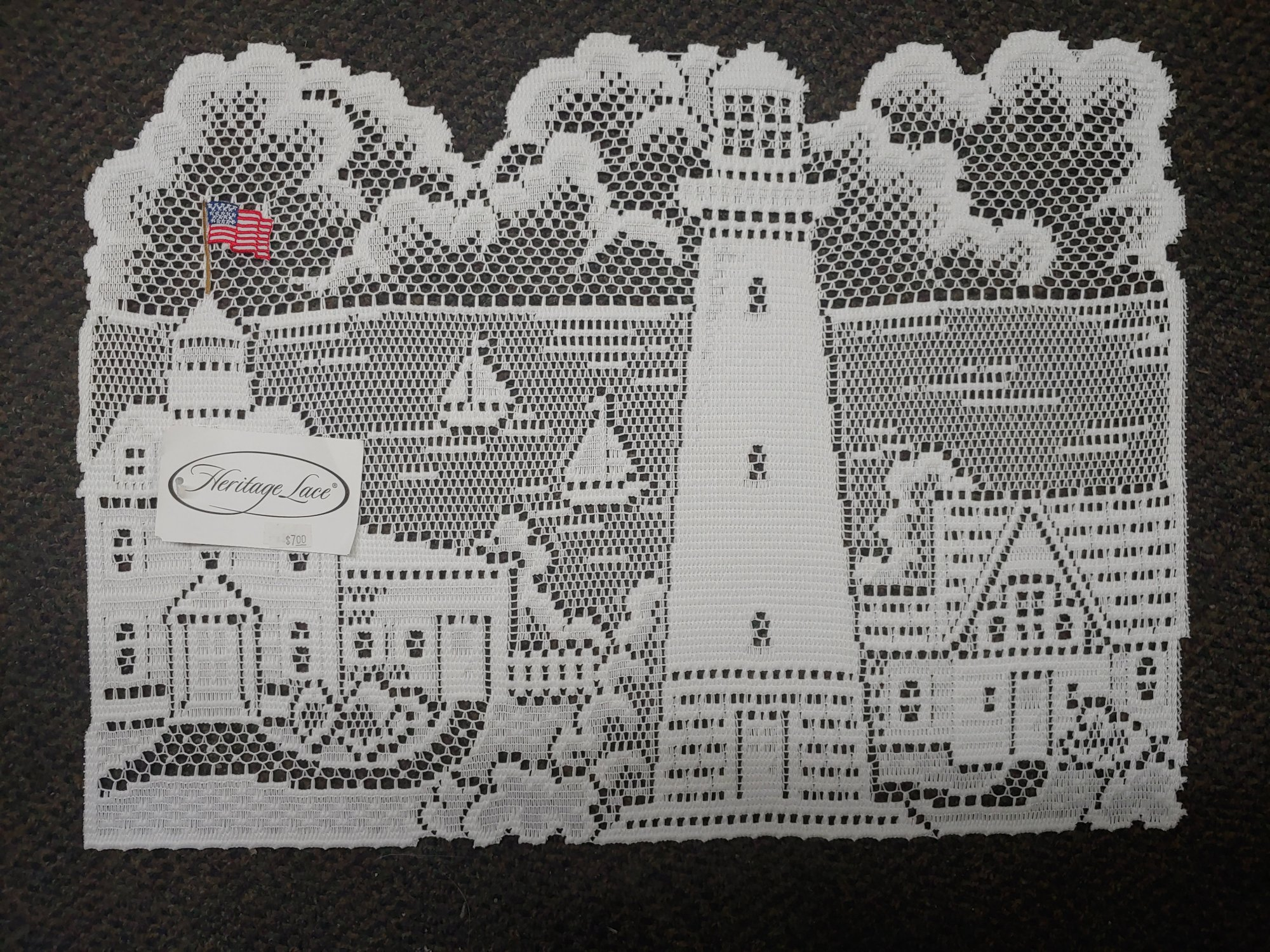 HERITAGE LACE LIGHTHOUSE  PLACEMAT